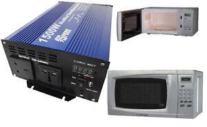 1500 watt 24v mikrowelle inverter f r truck lkw 24 volt 24v fahrzeuge ebay. Black Bedroom Furniture Sets. Home Design Ideas