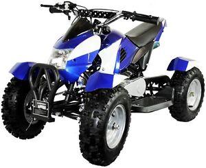 49cc Petrol Atv Quad Bike 50cc 2 Stroke Top Speed 25mph Ebay