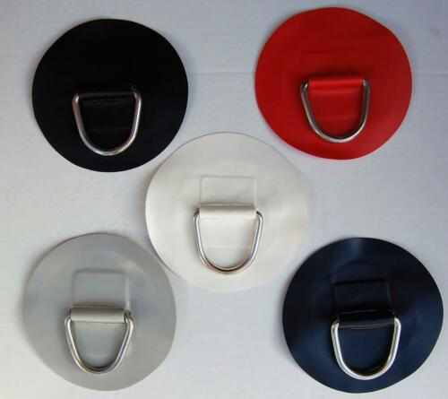 1 x INFLATABLE BOAT PVC D RING LARGE ROUND PATCH WATERCRAFT PARTS ACCESSORIES