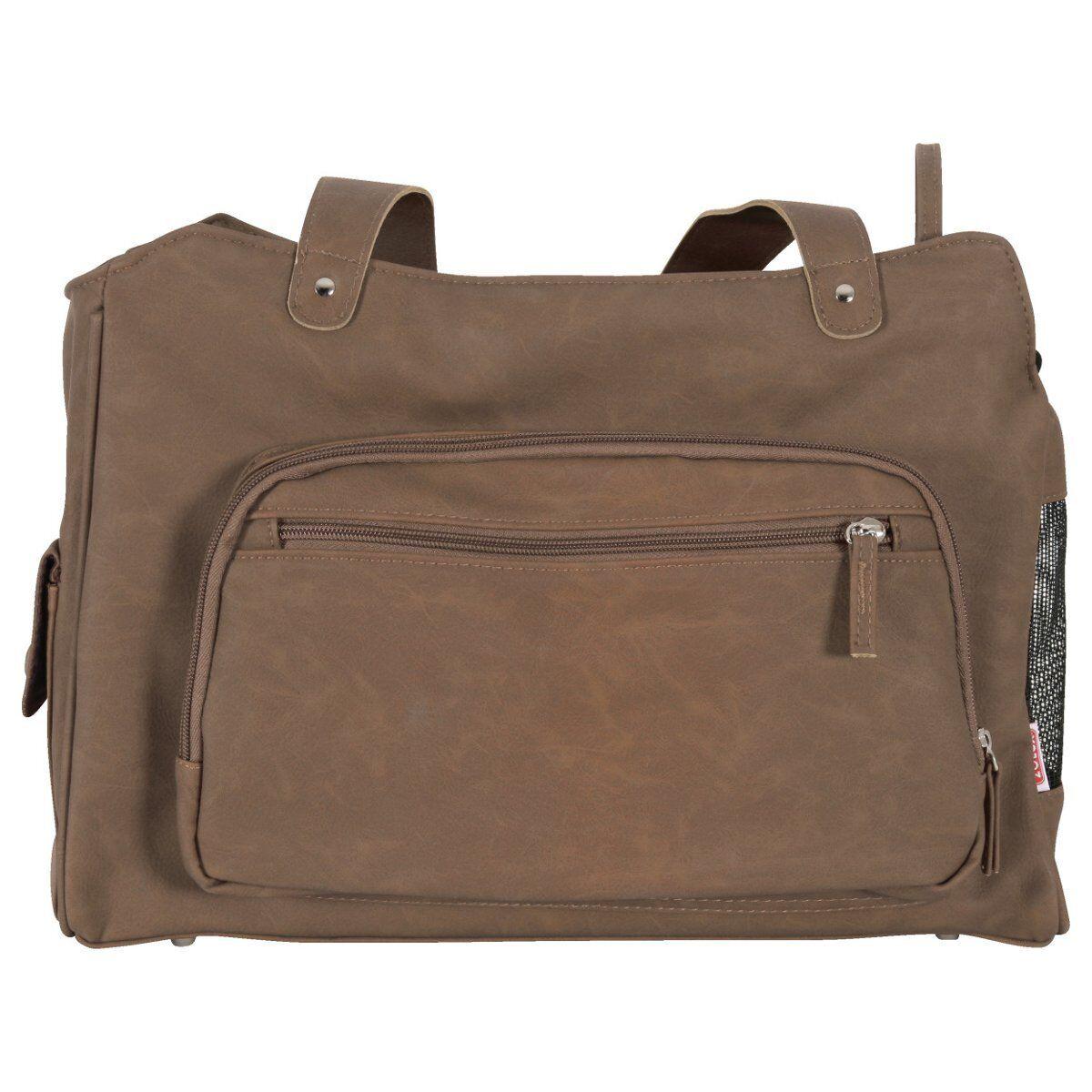 Zolux Transporttasche 5th Avenue für Hunde - taupe - S Hundetransport Tasche