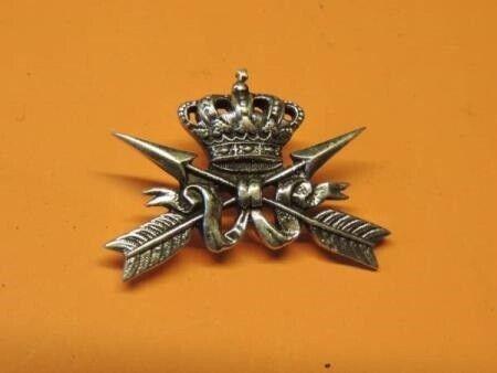 Militær, SØLVLIGNENDE MÆRKE - 925 - STATSTELEGRAFEN