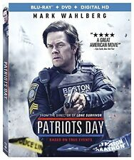 Patriots Day (Blu-ray + DVD + DIGITAL HD) BRAND NEW + FREE SHIPPING