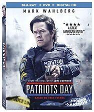 Patriots Day (Blu-ray + DVD + DIGITAL HD) BRAND NEW + FREE SHIPPING