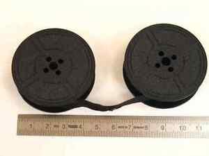 Farbband-f-Schreibmaschine-DIN32755-Doppelspule-13mm-breit-schwarz-Gr-1