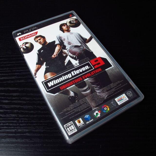 PSP Winning Eleven 9 Ubiquitous Evolution: Playstation Portable JAPAN UMD #0101