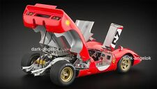 1:18 CMC M-095, Ferrari 312P Spyder Sebring 25 Amon/Andretti 1969, NEU&OVP, RAR
