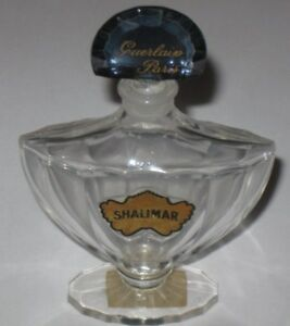 "Perfumes #2 A Wide Selection Of Colours And Designs Collectibles Vintage Guerlain Baccarat Style Shalimar Perfume Bottle 1 Oz 4"" Height Empty"