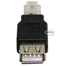 USB 2.0 Tpye A Female Jack To Female Plug For Tellphone RJ11 Connector Adapter