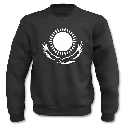 Kasachstan Sonne Mit Adler I Fun I Sprüche I Lustig I Sweatshirt