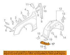 AUDI OEM 09-16 Q5 Front Fender-Liner Splash Shield Extension Left 8R0853887B