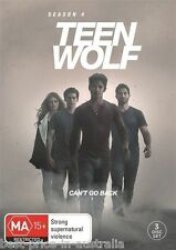 TEEN WOLF: Season 4 DVD BRAND NEW SEALED NEW RELEASE TV SERIES 3-DISCS R4