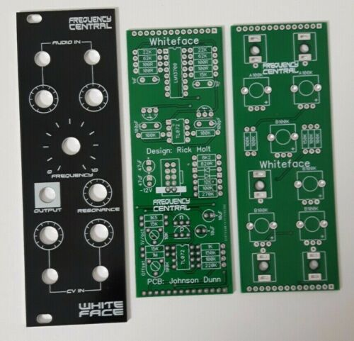 ARP 4023 VCF Frequency Central Whiteface PCB//panel Doepfer DIY