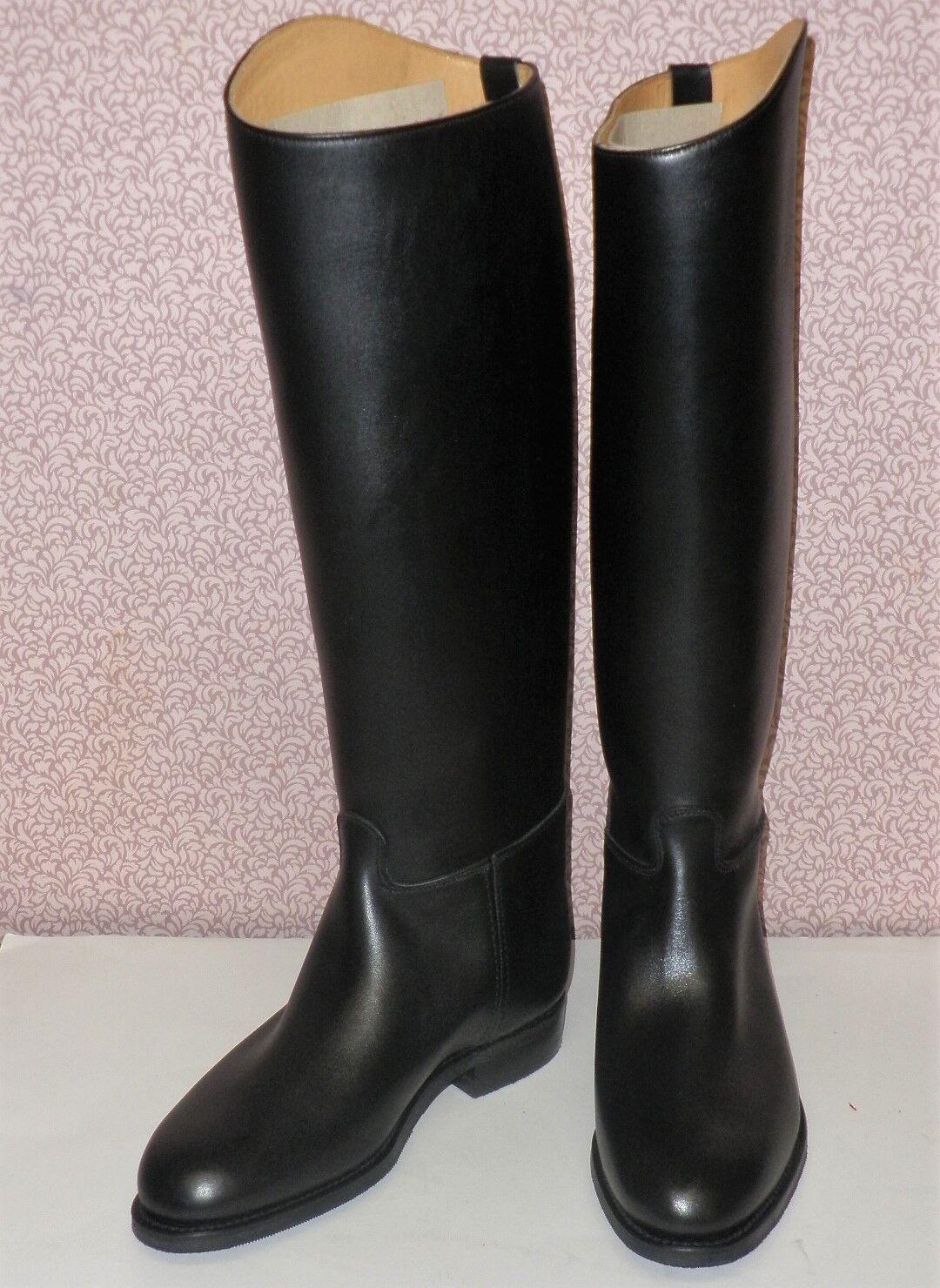 Regent pro euro Negro Cuero Inglés Largo botas De Montar Varios Tamaños Disponibles