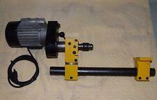 Emco Compact 5 Lathe V Milling Attachment W Rohm Chuck