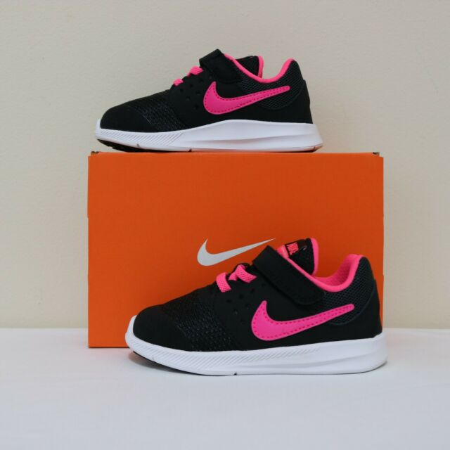 Nike Baby Girls Downshifter 7 (TDV) sneaker shoes Size 5 ...