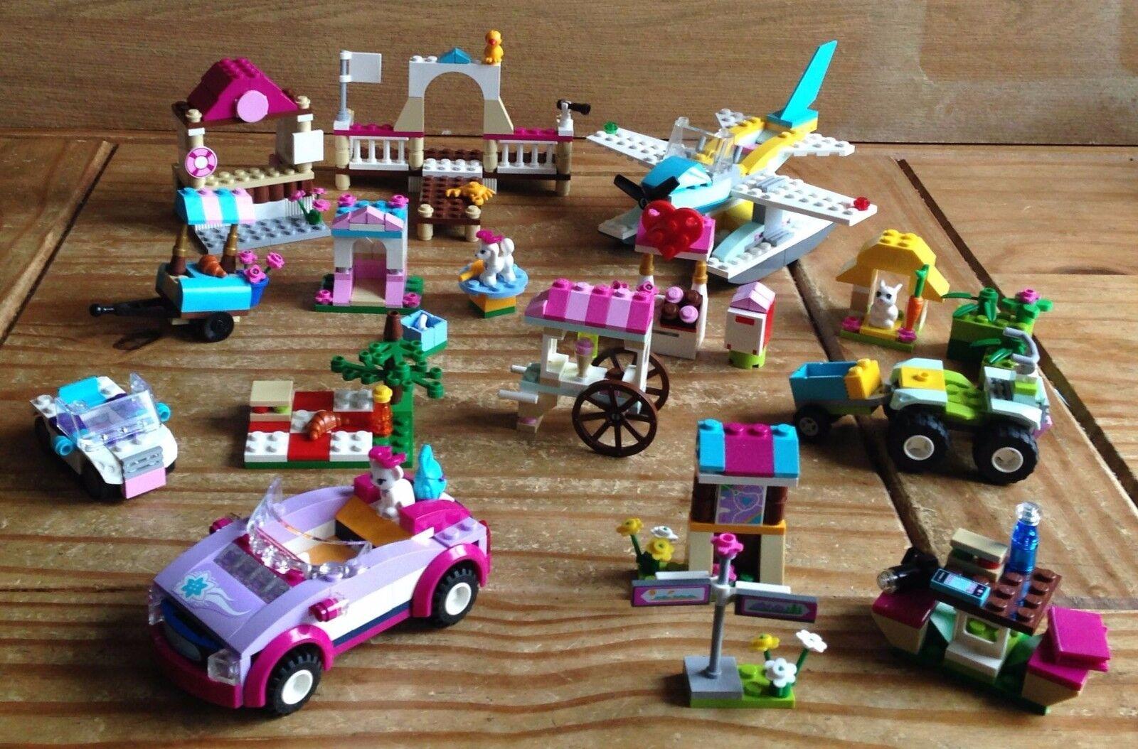 Lego Friends Bundle - PLEASE SEE MAIN DESCRIPTION