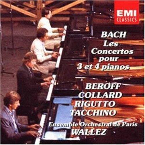 Ensemble Orchestral de Paris, J.S. Bach - Piano Concerti 3 & 4 [New CD]