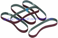 5pc 1/2 X 18 Sanding 1/2x18 Inch Mini Sandpaper Belts Sander Belt Bandfile