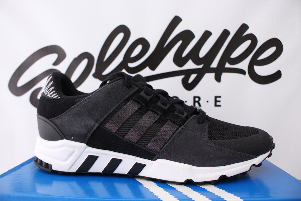 ADIDAS EQT SUPPORT RF CORE BY9623 BLACK CARBON RUNNING WHITE BY9623 CORE SZ 10 cf335f