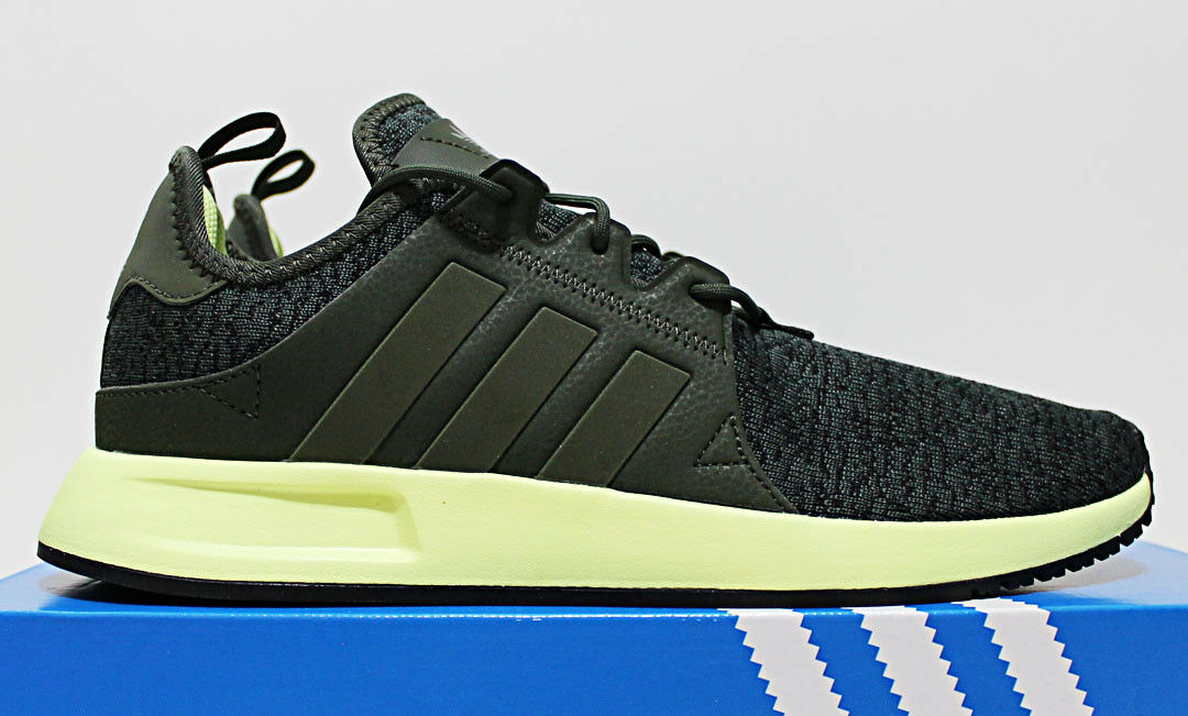 $85 NIB ADIDAS X_PLR Neon-Green Lime Sneakers Men's Sneakers Lime 10.5 nmd r2 r1 ultraboost 6c1f8d