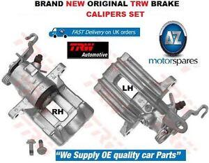 FOR VW VOLKSWAGEN GOLF 2004-2008 NEW REAR LEFT + RIGHT BRAKE CALIPER