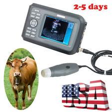 New Listingus Handheld Ultrasound Scanner Animals Veterinary Vetmechanical Sector Probe