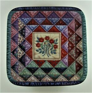 THE-OCEAN-WAVE-Plate-Cherished-Traditions-4-Quilt-Mary-Ann-Lasher-Bradford-Exch