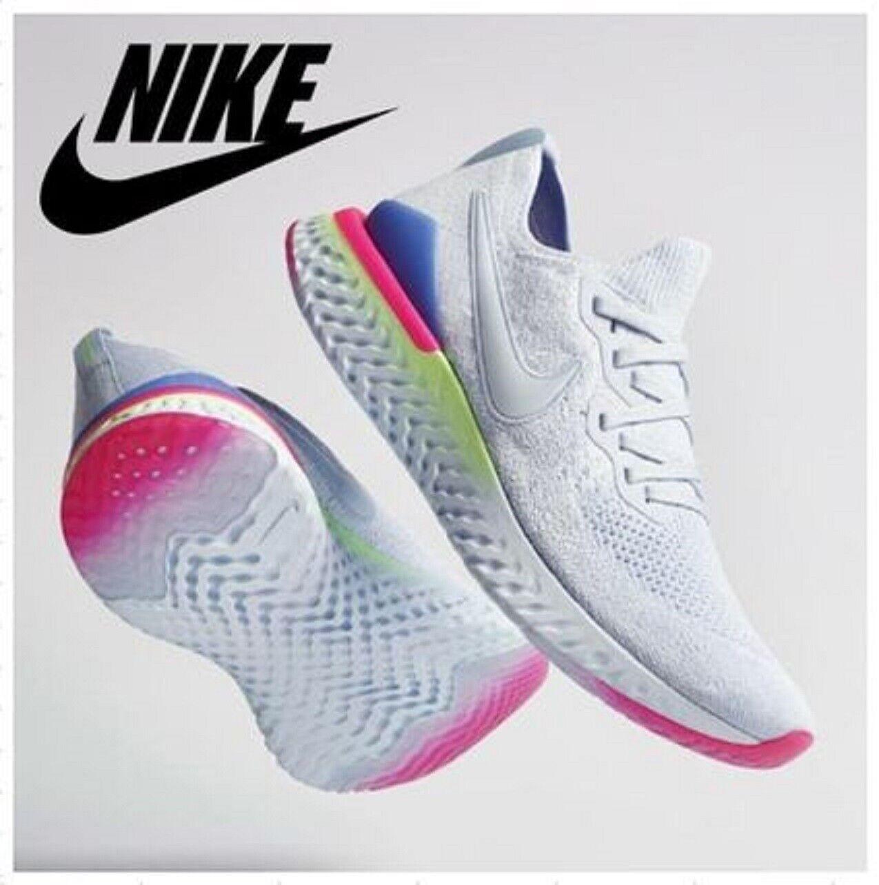 Nike Epic Reagieren Flyknit 2 Turnschuhe Herren Sport BQ8928-453 UK 8 US 9