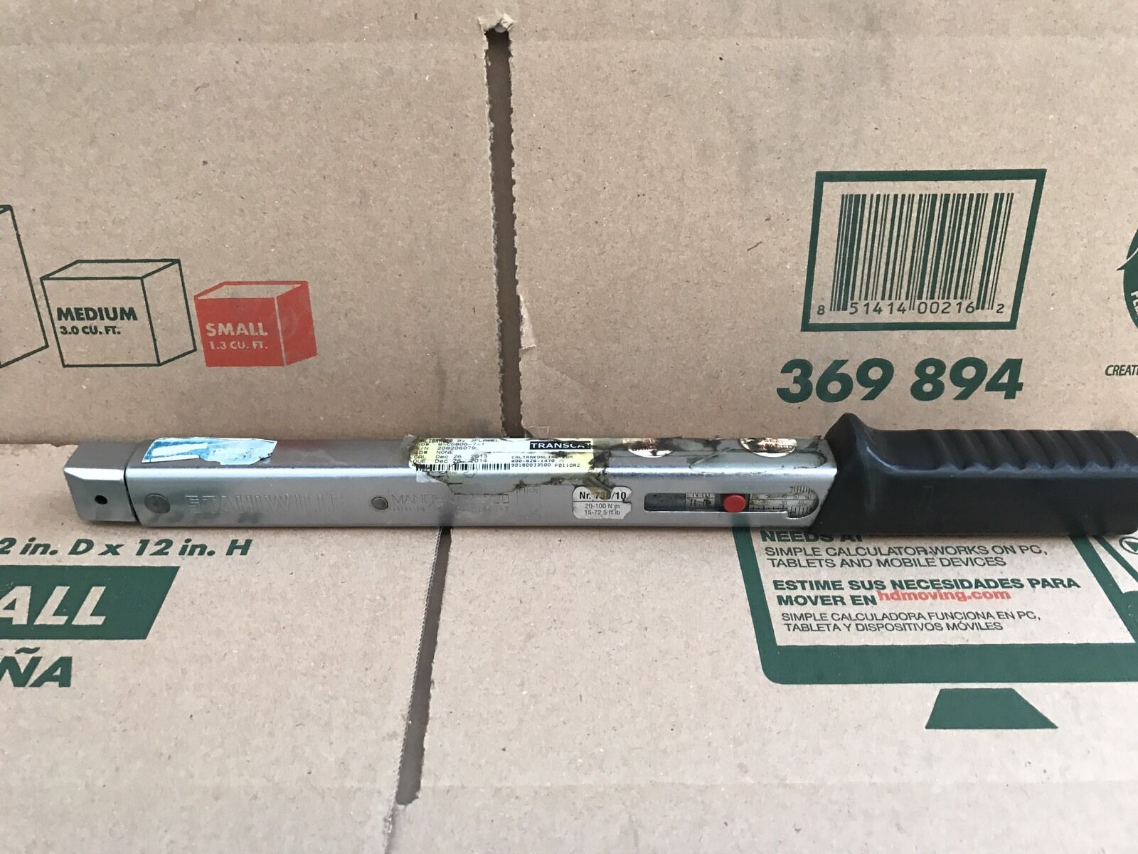 Stahlwille Manoskop 730/10 Torque Wrench 15-72.5 ft.lb  20-100Nm  C
