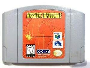 Mission-Impossible-NINTENDO-64-N64-Game-Tested-Working-amp-Authentic