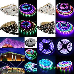 new style c08e0 53c4b Details about 5M 5050 WS2811 RGB Dream Color Multicolor 150/300 LED Strip  Light 30/M 60/M 12V