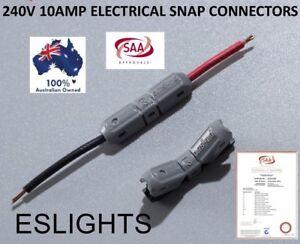 Car Audio & Video Installation Other Car A/v Installation 10x Jowx 12v 240v 10a Snap Connector Wire Car Audio Crimp Terminal 17-19 Awg