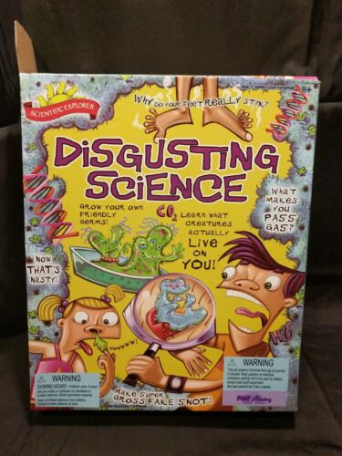 Scientific Explorer Disgusting Science Kit m