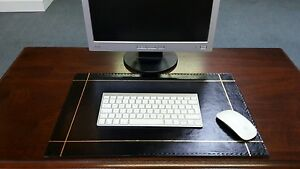 Leather Desk Mat/Pad 							 							</span>
