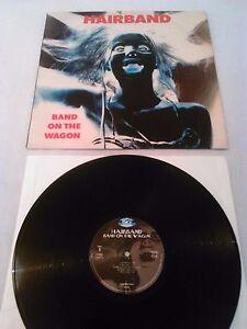 HAIRBAND - BAND ON THE WAGON LP EX!!! SOUNDVISION REISSUE 03522 ALEX HARVEY