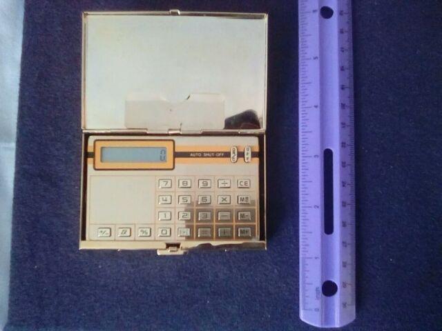 Sceptre Sl 110 Calculator With 24k Gold