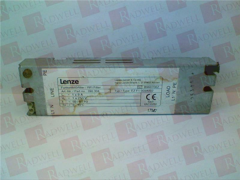 LENZE EZF-1009A-002   EZF1009A002 (NEW NO BOX)