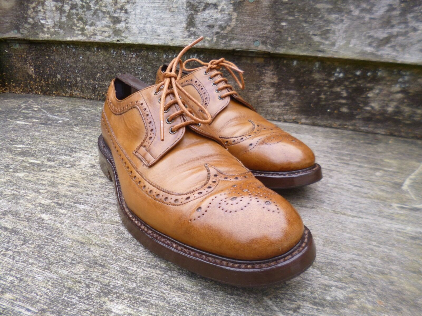 CHEANEY BROGUES – BROWN   TAN – – CUMBRIA - EXCELLENT  CONDITION