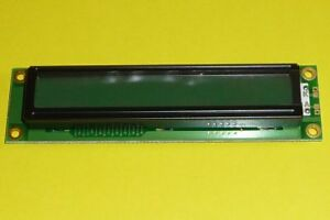 Vintage NAN YA Plastics LCD Display LMM C3S006D2E 1x16 CK66 UL94V-0 M020HKKA NOS