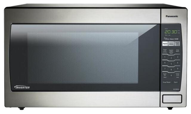 Panasonic NN-SN966S 1250 Watts Countertop Microwave Oven ...
