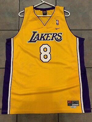 Kobe Bryant #8 Los Angeles LA Lakers Jersey size XL Nike Vintage | eBay