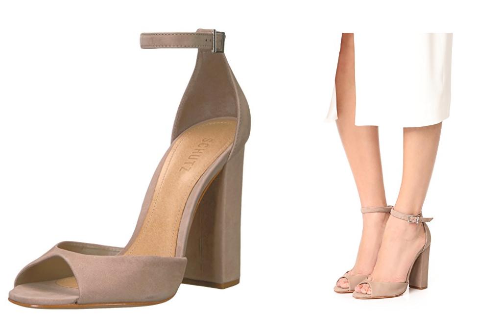 New in Box Schutz Odesa sandale talon bottier bottier