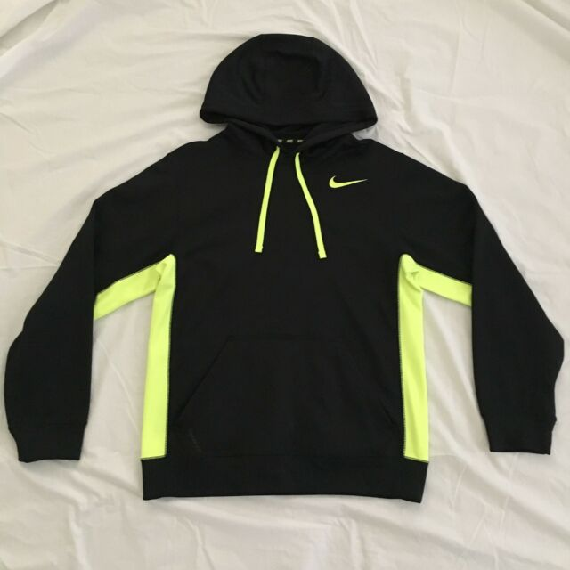 944739f73641 Nike KO Men s Hoodie 2.0 Therma Fit Black volt Size M 465784 018 for ...