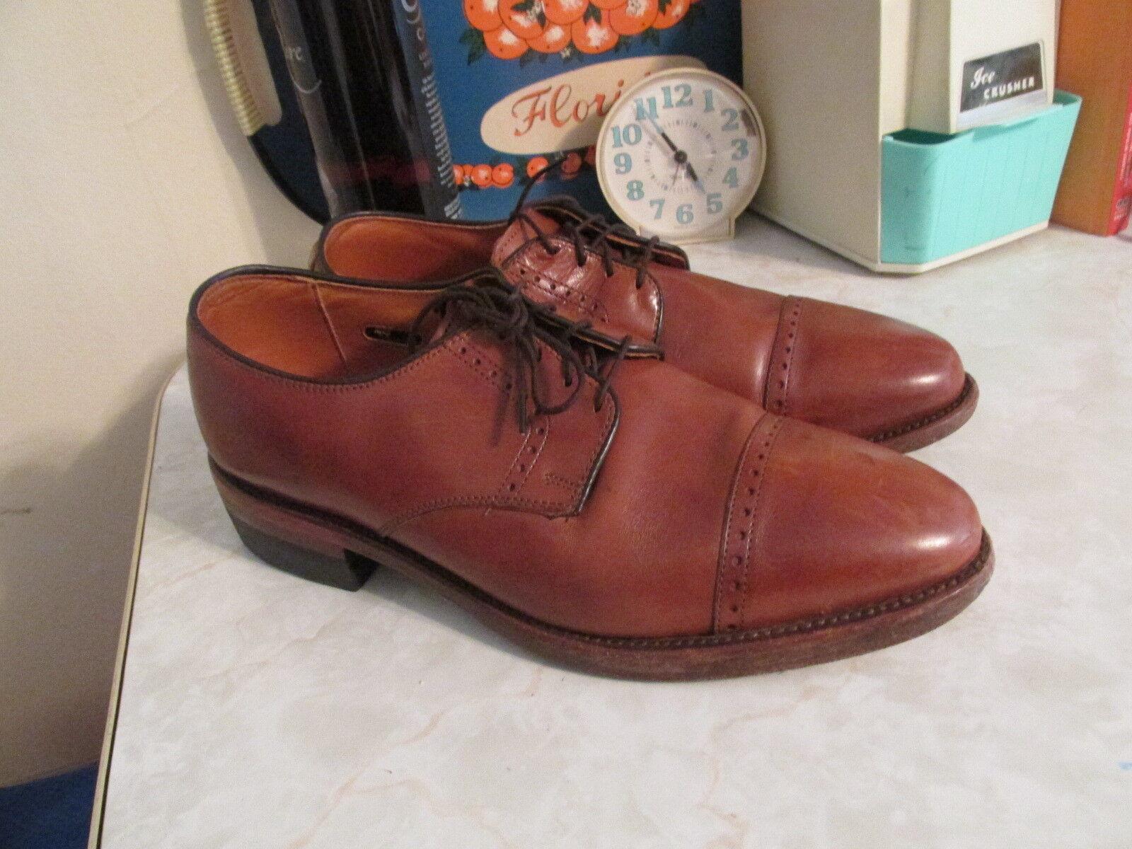 Allen Edmonds 'Clifton' Oxford - Walnut Calf - Size 8.5
