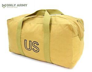US-Army-WW2-Large-Kit-Bag-Flight-Bag-1942-Kay-Canvas-Holdall-Heavy-Duty-Canvas