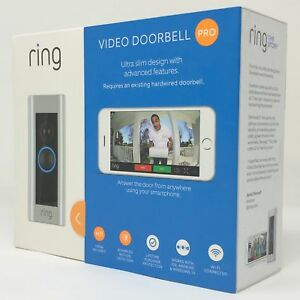 Details about Ring Video Doorbell Pro Works with Alexa (existing doorbell on