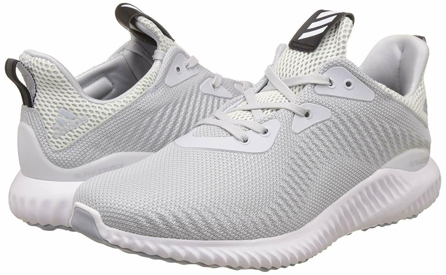 ✅24Hr Delivery✅Adidas ALPHA BOUNCE 1M RUNNING shoes Mesh Trainers Men's Joggers
