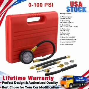 Fuel-Injection-Pump-Injector-Tester-Test-Pressure-Gauge-Gasoline-Petrol-Diesel