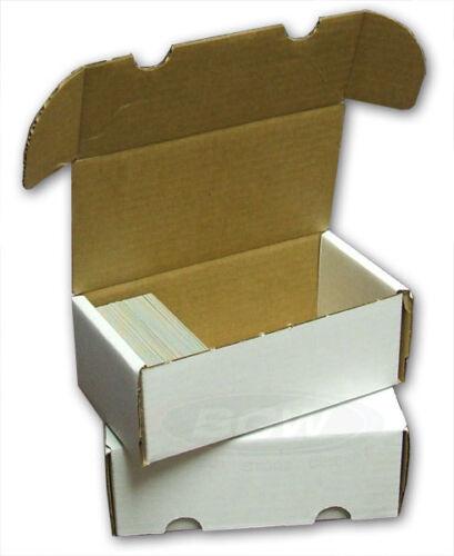 3 BCW 800 comte CARTON CARTE Boîtes de rangement Trading Sports Case Baseball MTG