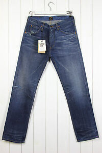 6f760029 NEW LEE 101Z THE ORIGINAL ZIP FLY JEANS SELVAGE STRAIGHT ...